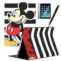 GSPSTORE iPad Mini 4ケース 自動スリープ/ウェイク機能付き 三つ折りスタンド ミッキーとミーン漫画のiPadケース