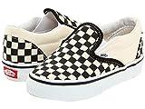 (バンズ) VANS キッズスニーカー・靴 Classic Slip-On Core (Toddler) Black and White Checker/White 8.5 Toddler (15.5cm) M