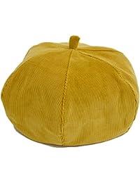 cielhat (シエルハット) 6枚はぎ コーデュロイ ベレー帽