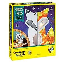 Creativity for Kids Fancy Fox Light Craft Kit - Makes 1 Light-Up Fox