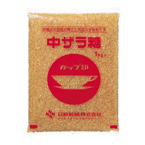 日新製糖 カップ印 中ザラ糖 1kg
