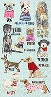 (Buffet Guest) - Ideal Home Range 16 Count Hot Dogs Paper Guest Buffet Towel Napkins