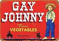 Gay Johnny Vegetables ティンサイン ポスター ン サイン プレート ブリキ看板 ホーム バーために