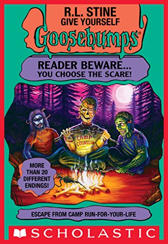 Escape from Camp Run-For-Your-Life (Give Yourself Goosebumps #19) (English Edition)