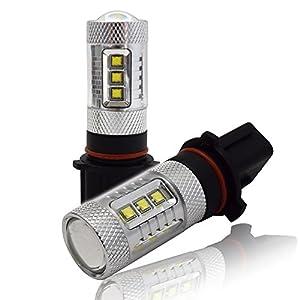 煌めきスタイル! PSX26W ホワイト LED フォグバルブ 2本セット ハイエース200系 3型後期 4型 LED フォグバルブ