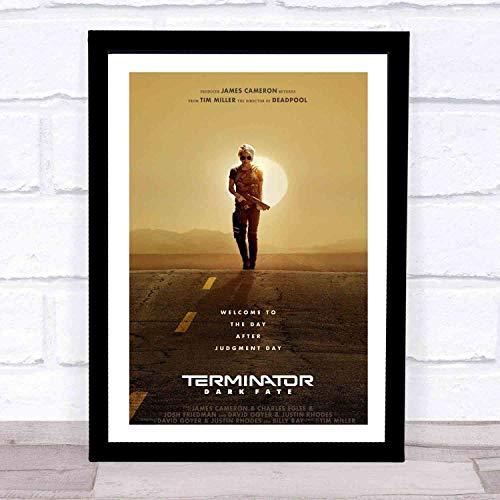 ファッション絵画ポスター - ターミネーター:ニューフェイト Terminator - 壁掛け 壁飾り - 28x23cm(額縁を送る)