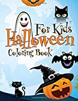 Halloween Coloring Book for Kids: Great 23 Illustrations