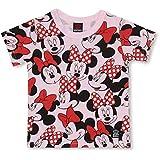 BABYDOLL(ベビードール)Disney ディズニー キャラクター総柄Tシャツ 2136K 130cm ミニー