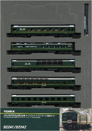 Nゲージ車両 24系25形特急寝台客車  トワイライトエクスプレス  増結A 92241