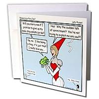 リッチDiesslins Funny Theology漫画–ラッセル–Redeeming a Fairy Tale–グリーティングカード Set of 12 Greeting Cards