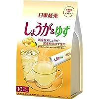 日東紅茶 しょうが&ゆず スティック 10本入り