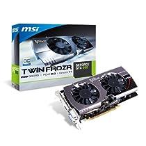 MSI GeForce GTX660 搭載ビデオカード オーバークロックモデル オリジナルファン採用 日本正規代理店品 VD4776 N660GTX Twin Frozr III OC