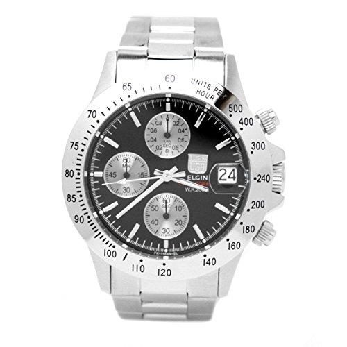 [エルジン]ELGIN 腕時計 クロノグラフ 日本製ムーブメ...