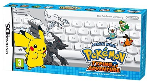 Battle & Get ! Pokemon Typing Adventure,(White)DS/バトル&ゲット ポケモンタイピングDS (シロ) [Nintend...
