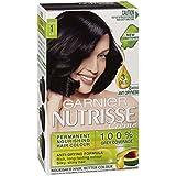 Garnier Nutrisse Permanent Hair Colour 1 Liquorice Black