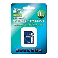 スーパータレント SDHCメモリーカード 8GB Class4 ST08SDC4