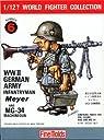 ファインモールド 1/12 ワールドファイターコレクション ドイツ陸軍歩兵 マイヤー プラモデル FT6
