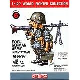 ファインモールド 1/12? ワールドファイターコレクション ドイツ陸軍歩兵・マイヤー プラモデル FT6