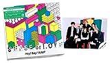 【セット品 2点】 SENSE or LOVE (初回限定盤) (CD+DVD) +「SENSE or LOVE 」MV &ジャケ写撮影オフショット写真 集合ver.
