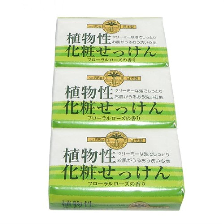 リボンもっとホステス植物性化粧石けん 85g×3個セット