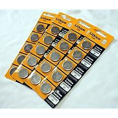 CR2032 リチウム電池(20個パック)