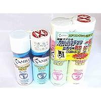 【プロ仕様】エアコン1台分ファン洗浄剤とフィン洗浄剤のセット◆ムース&リンス2液タイプ6-8畳用くうきれい