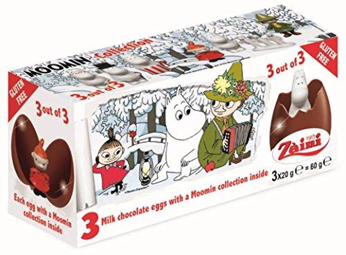 ムーミン チョコレートエッグ 3個入り