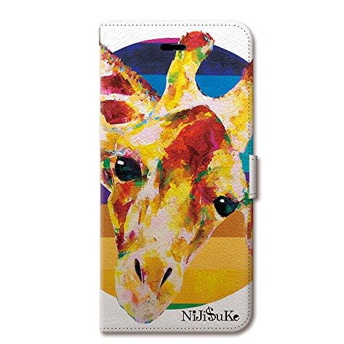 NiJiSuKe (ニジスケ) iPhone6s iPhone6 4.7 インチ 手帳型 ケース カバー 革 / カード収納 / スタンド / スマホケース / 横開き