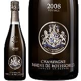 2008 ブラン ド ブラン ヴィンテージ バロン ド ロスチャイルド シャンパン 辛口 白 750ml