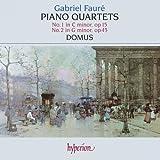 Piano Quartets No. 1 Op. 15 & No. 2 Op. 45