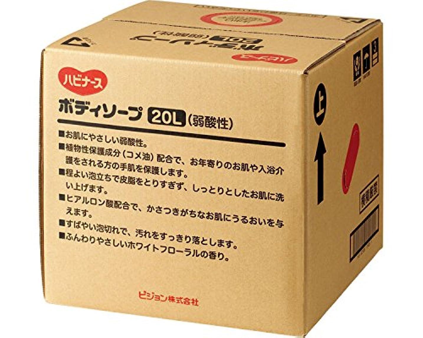 依存するオアシス技術的なハビナース ボディソープ(弱酸性) 20L 11344 (ピジョン) (清拭小物)