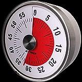 タイマー,幼児教育タイムリマインダーツール タイマー時間60分 時間管理 機械発条式 (8cm)