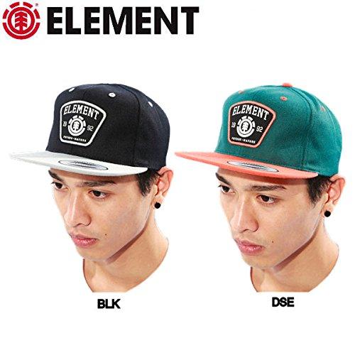 【ELEMENT】エレメント2014秋冬/SEAL CAP メンズスナップバックキャップ 帽子 snapback/2カラー DSE (在庫あり) F