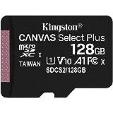 キングストン microSD 128GB 最大100MB/s UHS-I V10 A1 Nintendo Switch動作確認済 Canvas Select Plus SDCS2/128GB