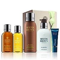 モルトンブラウン究極のジムの必需品ギフトセット - Molton Brown Ultimate Gym Essentials Gift Set [並行輸入品]