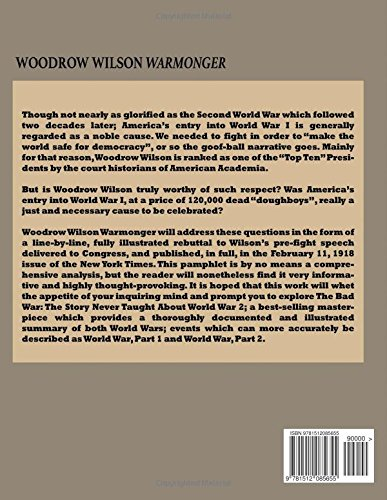a rhetorical analysis of woodrow wilsons war address to congress World war i 1917 woodrow wilson asks us congress for declaration of us troops into battle against germany in world war i in his address to congress that.