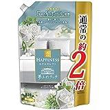 【新】 レノアハピネス 夢ふわタッチ 5つ星ホテル発想 柔軟剤 上品で心地よいホワイトティーの香り 詰め替え 810 mL