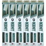 【6本セット】KENT 極細軟毛歯ブラシ KNT-9031 オーバルラージヘッド 超やわらかめ