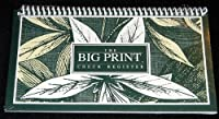 The Big Print Check Register - Spiral Bound by Big Type Co.