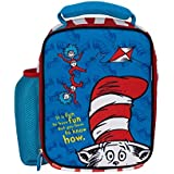 Dr Seuss The Cat in The Hat Lunch Bag Kids Fun Neoprene Insulated Preschool Day Care Lunch Box