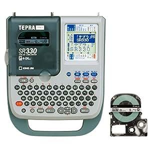 キングジム ラベルライター テプラPRO テープセット SR330A