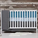 Flink Organic Crib Bumper in Oasis by Flink [並行輸入品]