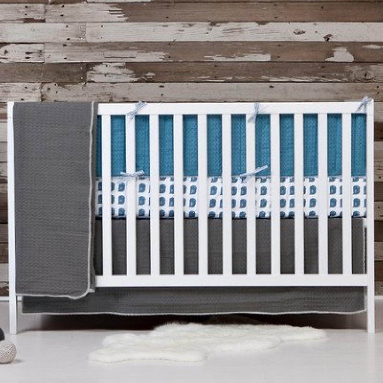 Flink Organic Crib Bumper in Oasis by Flink [並行輸入品]