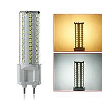 Esbaybulbs 12W LED コーンライト G12 LED コーン電球 ホワイト XJ-G1ER