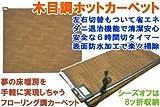 日本製 ホットフローリングカーペット 3畳タイプ HT-30FL