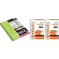 コクヨ キャンパスノートA罫5冊パック&ルーズリーフさらさら書けるA罫2冊 ノ-3CATNX5 ノ-836ATNX2