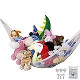 おもちゃハンモック 収納ネット 吊り下げ式 子供玩具収納 ぬいぐるみ用 お風呂用 多用途 子供 部屋 室内 用 収納 片付け(180*120*120cm)