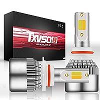 LEDバルブ LED 高/低ビーム ヘッドライト コンバージョンキット フォグライト 球根 32W 3600LM 6000K 白 車検対応 (Style : 2S 9006)