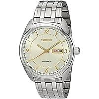 [セイコー] SEIKO 腕時計 Seiko Men's Japanese Automatic Stainless Steel Casual Watch, Color:Silver-Toned 日本製自動巻 SNKN99 メンズ 【並行輸入品】