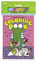 (Coloring Books) - Colouring Book Party Favours, 8ct [並行輸入品]